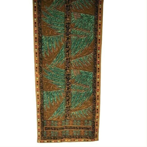 Museum of Fine Arts Accessories - Silk Scarf Museum of Fine Arts MFA Egyptian Motif